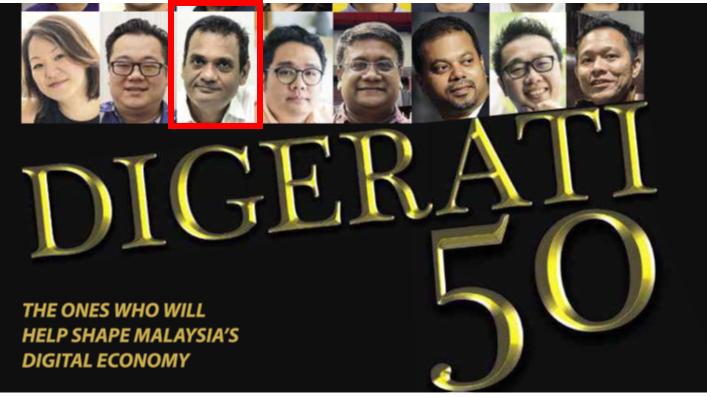 Shaping Malaysia's Digital Economy – ICEE International, Digerati 50, 2018
